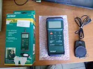 Medidor De Luminosidad Extech 407026 Casi Nuevo.