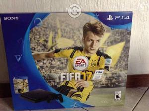 PS4 Slim de 500gb con FIFA 17 nuevo sellado