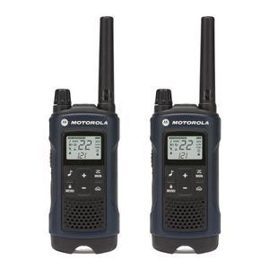 Par Radios Motorola Talkabout T460 Recargable 2 Vias - Azul