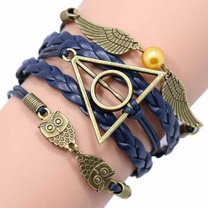 Snitch Dorada Y Pulsera Harry Potter