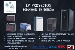 UPS, Reguladores de voltaje, baterias para ups, supresores