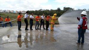 curso de manejo de extintores y programas de contingencia