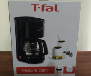 Cafetera Heliora Petit Negra T-fal + Envio Gratis!