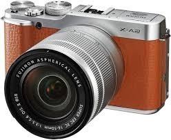 Cámara Fujifilm X-a2 Con Lente mm Café Wifi