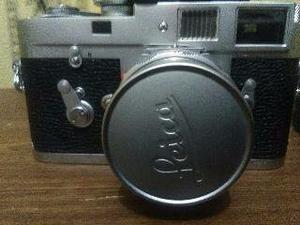 Leica, Camara De Coleccion De  En Total Funcionamioento