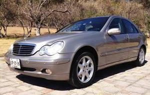 Mercedes Benz Clase C 4p C 320 Elegance aut