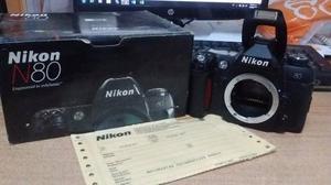 Nikon N80 Flash Sb600 Dos Lentes Dos Filtros