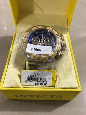 Reloj Invicta Hombre Reserve Subaqua Sea Dragon Modelo 21605