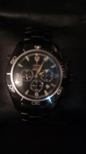 Reloj OMEGA pavonado negro 007 QUANTUM SOLARE