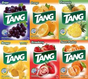 Sobres de bebidas tang