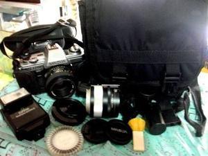 Vendo Cámara Y Equipo Fotográfico Profesional