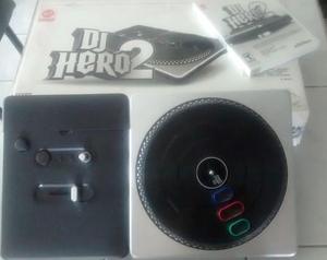 dj hero 2 para wii tornamesa y juego