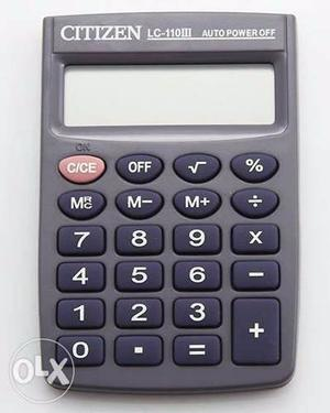 Calculadora De Bolsillo Citizen 8 Digitos Lc 110