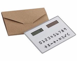 Calculadora Solar De Bolsillo Tarjeta Slim