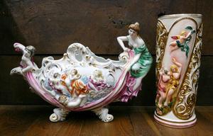 Adorno florero antiguo guadalajara posot class for Porcelana italiana