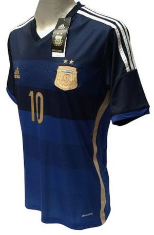 Jersey Argentina Local Y Visita Messi 10 Envio Gratis