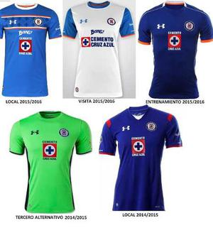 Jersey Cruz Azul Under Armour Originales En Oferta