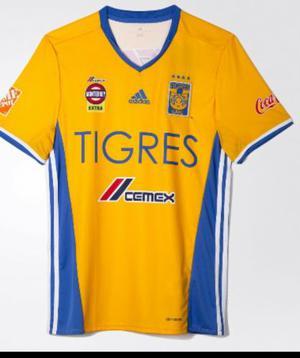 Jersey Playera De Futbol Tigres Original  Adidas