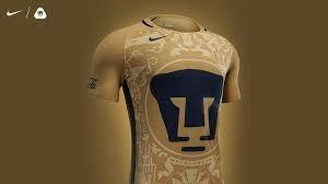 Jersey Playera De Pumas Unam Futbol  Nike Original