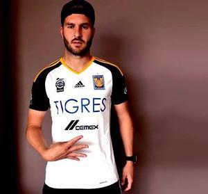 Jersey Playera Tigres  Local Y Tercera