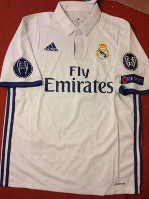 Jersey Real Madrid  Champions League Con Nombre