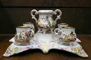 Figura tuc n de porcelana italiana capodimonte posot class for Porcelana italiana
