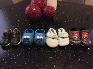 Lote de zapatos todos por 220