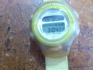 Reloj Casio Baby-g, Data Bank, Illuminator, 20 Memorias