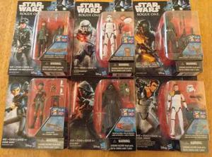 7 Figuras Star Wars Rogue One Jyn Erso Sabine Wren Kylo 3.75