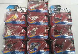 Colección De Naves Star Wars Hot Wheels 10 Piezas Nuevas