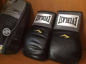 Guantes EVERLAST BOX MMA como NUEVOS 14OZ