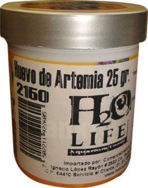 HUEVO DE ARTEMIA 25 GRAMOS H20