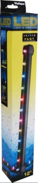 LAMPARA LED SUMERGIBLE FAST MULTICOLOR 12 PUL.