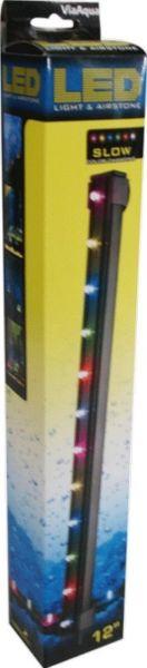 LAMPARA LED SUMERGIBLE SLOW MULTICOLOR 12 PUL.