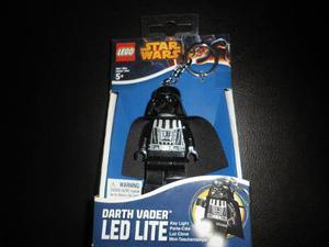 Llavero Y Linterna Led Lego Star Wars Darth Vader