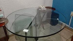 Mesa Completamente De Vidrio