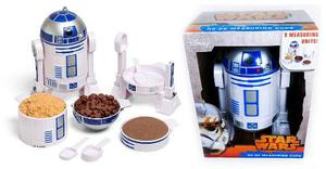 Star Wars Droide R2d2 Set Tazas Medidoras Exclusivo Force