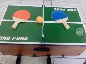 Futbolito, Ping -pong, Ajedrez,billar todo en uno
