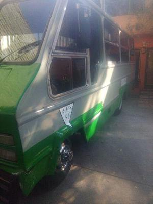 Microbus Chevrolet Alpha 1989