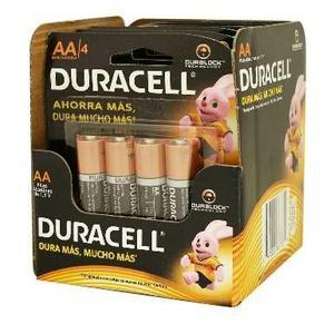 Pilas Alcalinas Duracell C&a Aa 24 Piezas!!! Envío Gratis!!