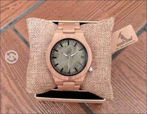 Reloj de Bamboo