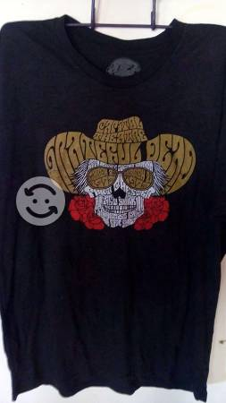 GRATEFUL DEAD Playera ORIGINAL talla XL