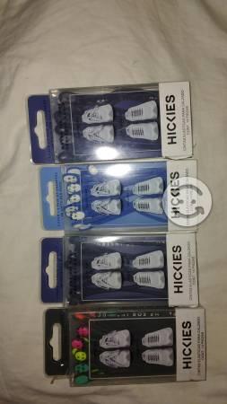 Hickies nuevos (cintas elasticas para tenis)