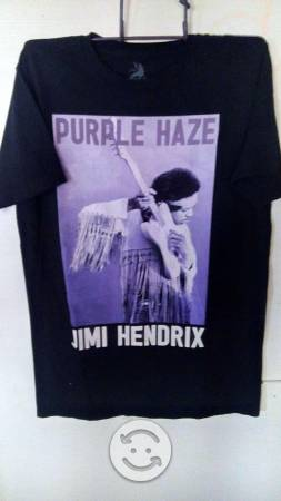 JIMI HENDRIX Playera ORIGINAL talla MEDIANA