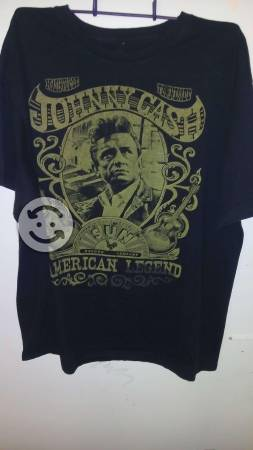 JOHNNY CASH Playera ORIGINAL talla XL