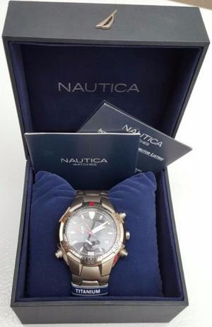 Nautica reloj de titanio