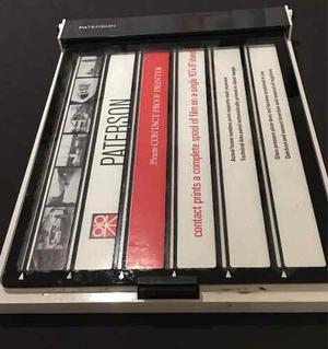 Paterson Prensa Para Contactos 35mm