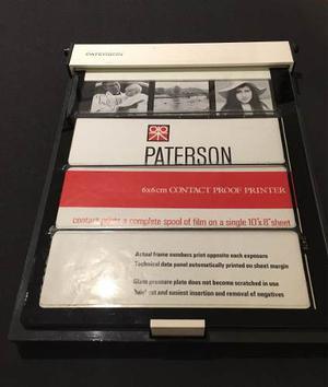 Paterson Prensa Para Contactos 6x6