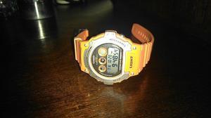 Reloj Casio W-214H-4AVCF Orange.