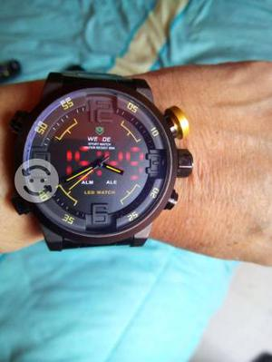 Reloj con Leds Sport, Comando